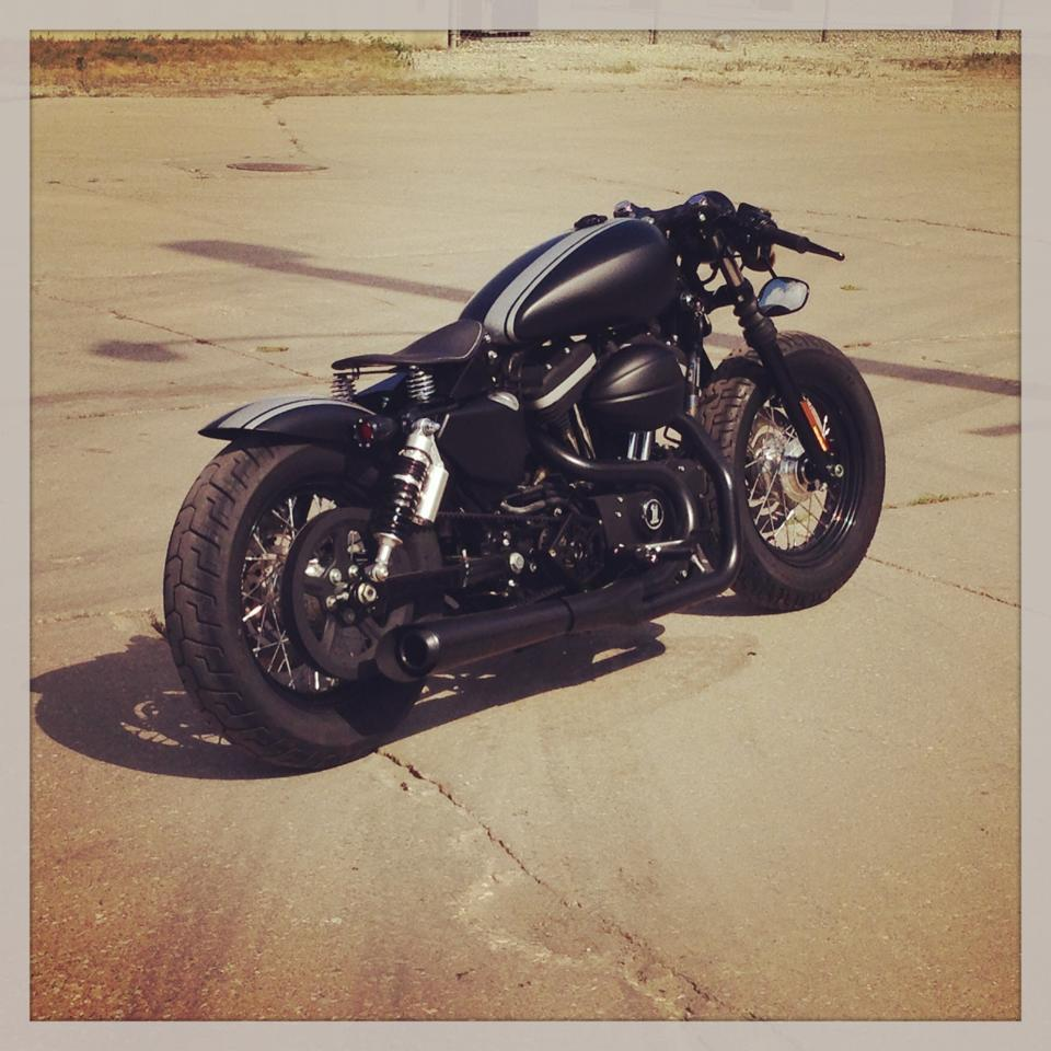 2009 Harley Davidson Sportster XL883N Custom Cafe Racer