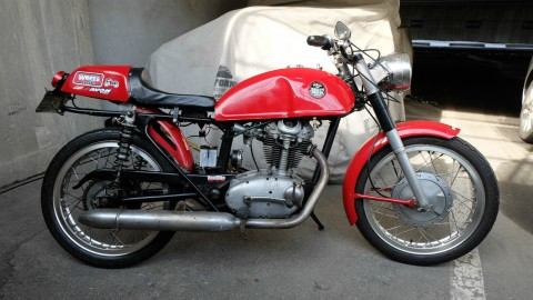 1966 Ducati 250 Single Motorcycle Cafe Racer for sale
