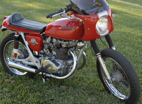 1974 Honda CB450 Vintage Cafe Racer for sale