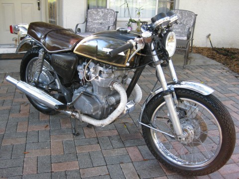 1975 Honda CB500 Cafe Racer Project for sale