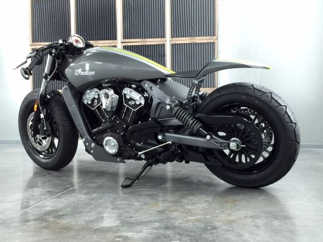 Indian Scout Cafe Racer Custom Cafe Racers For Sale