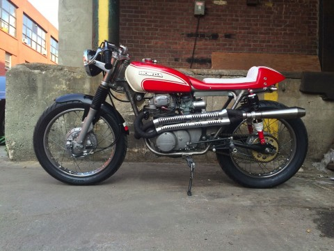 1972 Honda CB Cafe Racer for sale