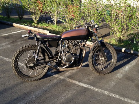 1974 Honda CB360 Vintage Cafe Racer for sale