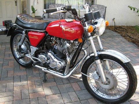 1974 Norton Commando 850 MK2 Cafe Racer for sale