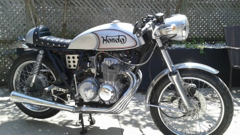 1977 Honda CB400F Cafe Racer Norton Style for sale