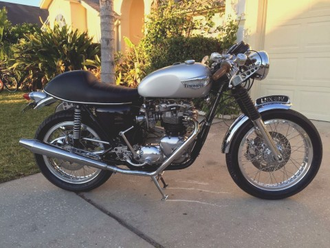 1979 Triumph Bonneville T140 Cafe Racer for sale