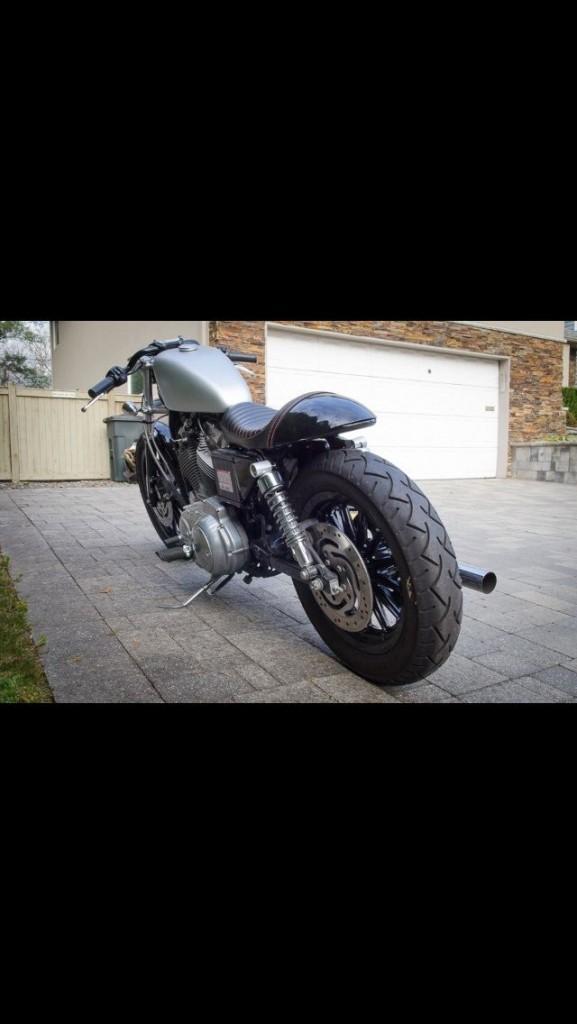Harley 100 Year Anniversary Bike >> 2003 Harley Davidson Sportster Cafe Racer for sale