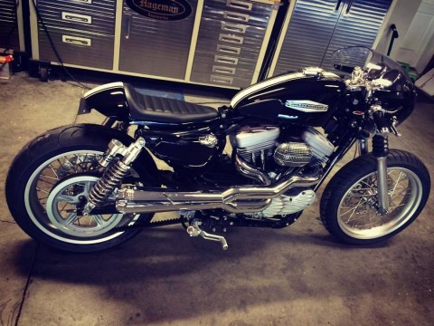 2004 Harley Davidson Sportster 1200 Cafe Racer for sale