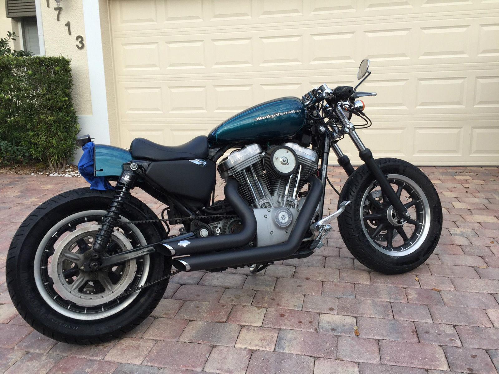 Harley Davidson Cafe Racer For Sale By 2004 Sportster