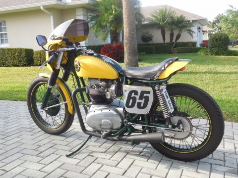 1965 BSA A65 Lightning Rocket Cafe Racer for sale