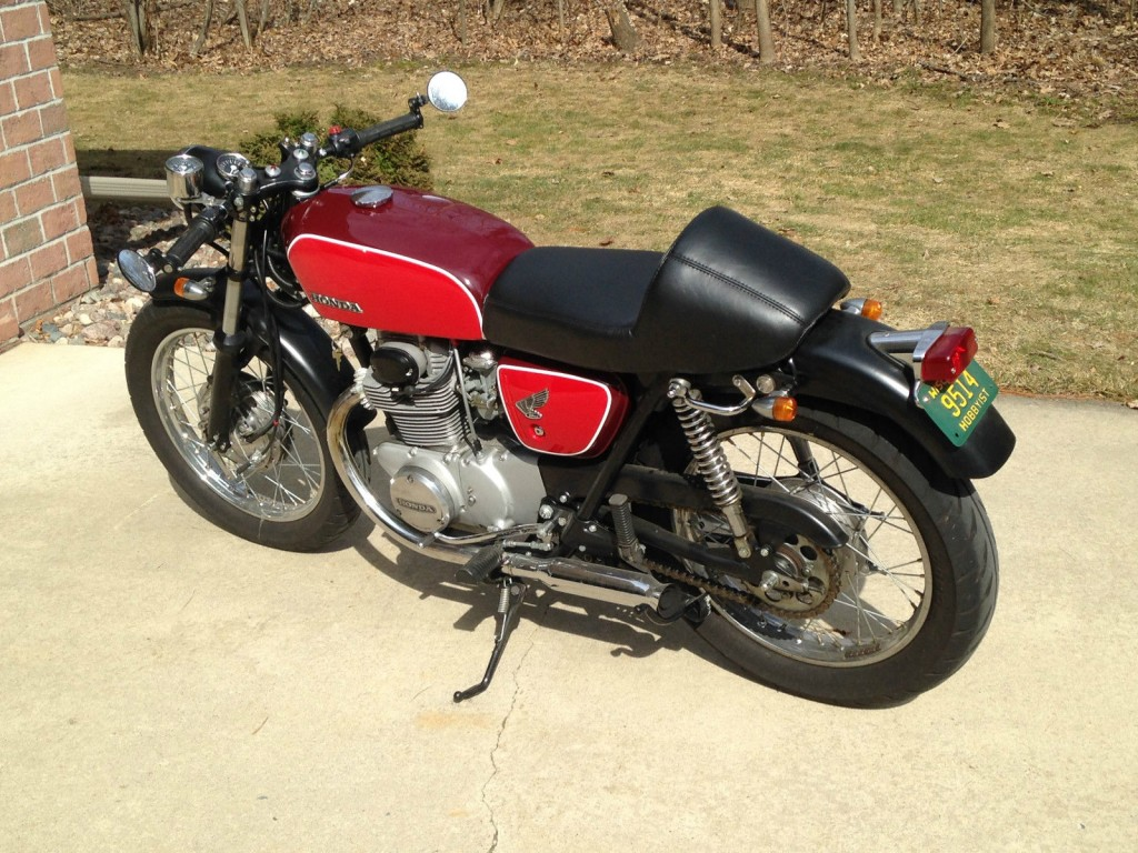 1971 honda cb 350 cafe racer for sale for Hondas for sale