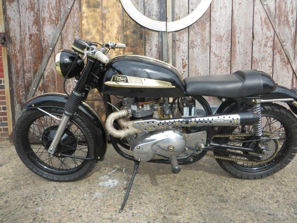 1971 Norton Triton Featherbed Replica frame