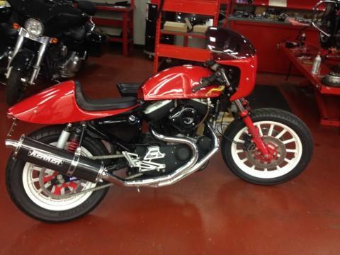 2003 Harley Davidson Sportster 100th Anniversary Custom Cafe Racer for sale
