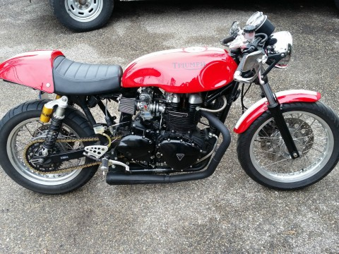 2007 Triumph Bonneville Thruxton Hot Rod Cafe Racer for sale