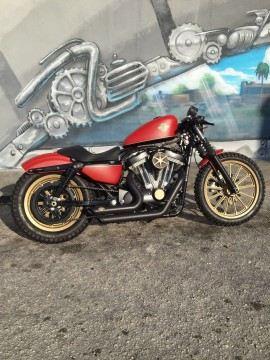 2009 Harley Davidson Sportster Scrambler Cafe Racer for sale