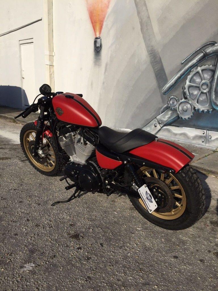 2009 Harley Davidson Sportster Scrambler Cafe Racer