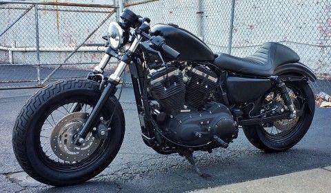 2011 Harley Davidson XL1200 Sportster 48 Cafe Racer for sale