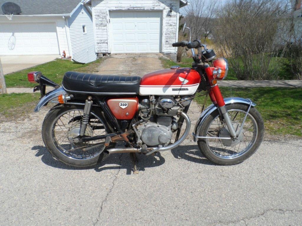 1970 Honda Cb350 Cafe Racer For Sale