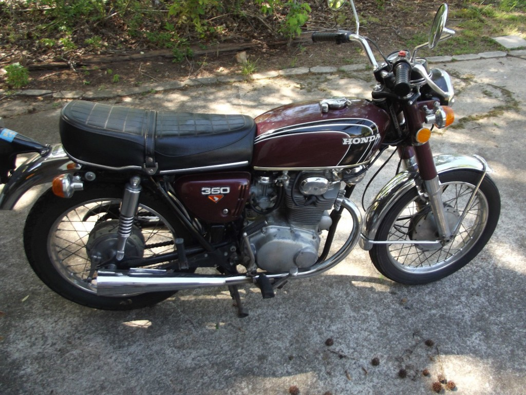 1973 honda cb350 cafe racer project for sale for Hondas for sale