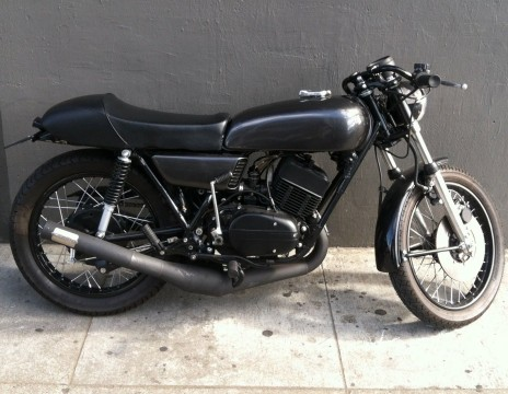 1975 Yamaha RD350 Custom Built Cafe Racer for sale