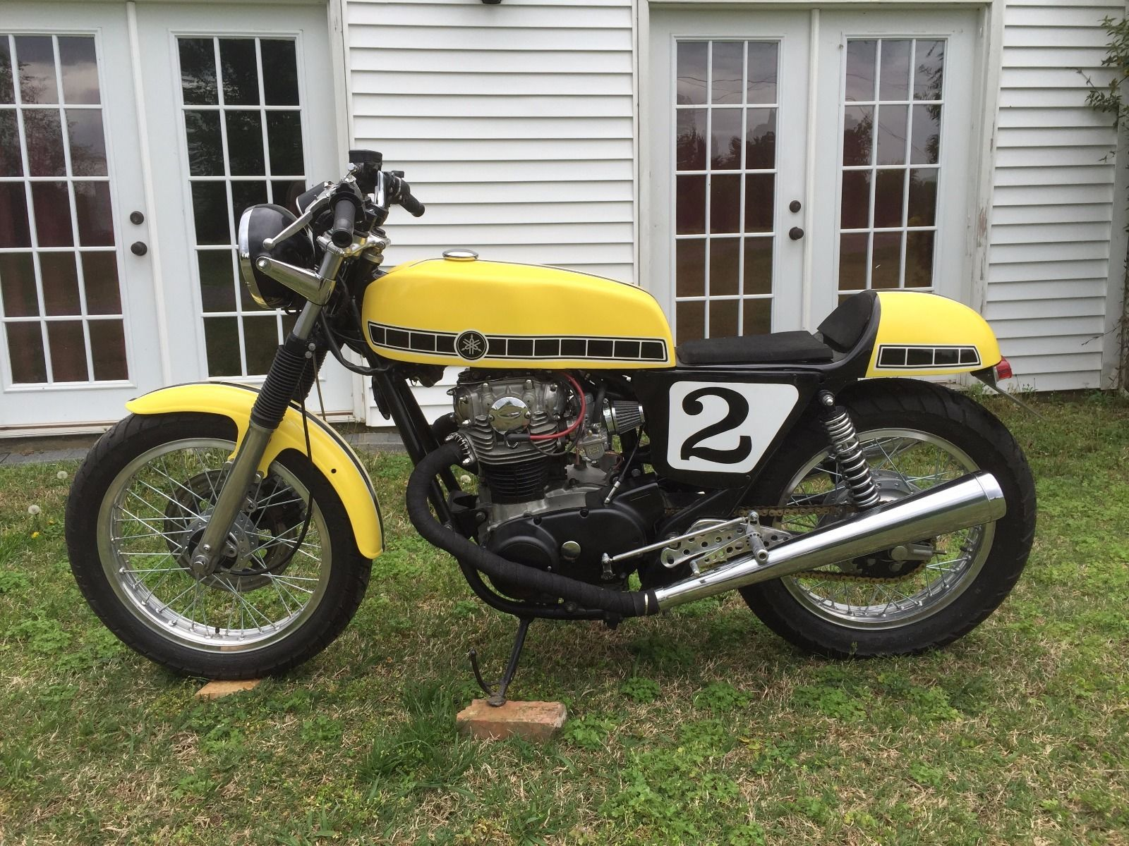 Yamaha Xs Cafe Racer For Sale