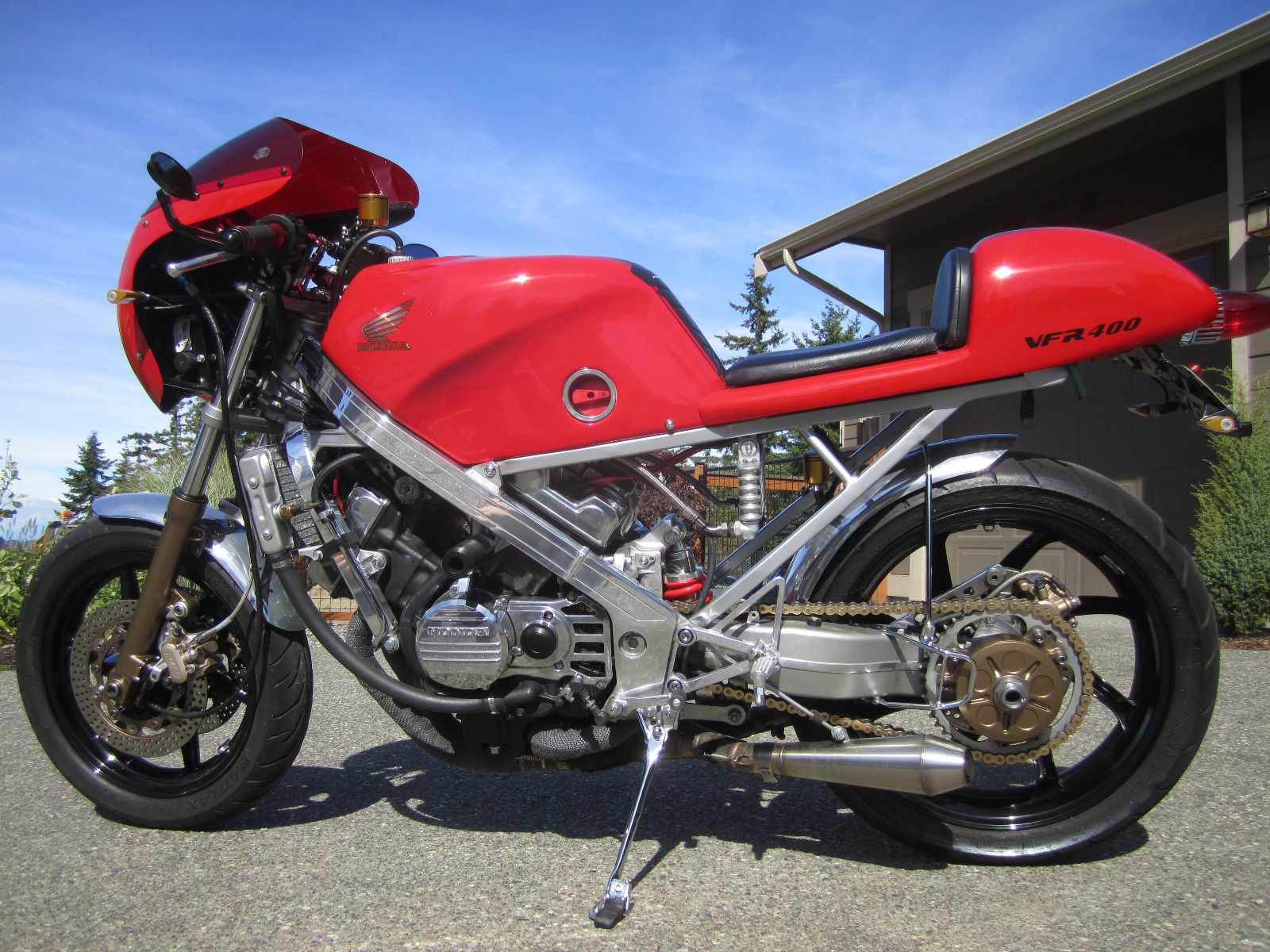 Honda vfr r nc cafe racer for sale