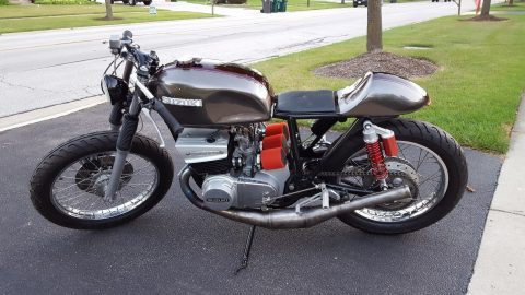 1974 Suzuki GT380 Cafe Racer for sale