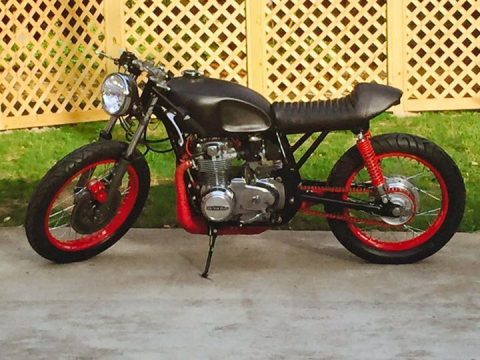 Brand new custom 1972 Honda CB500 Cafe Racer for sale