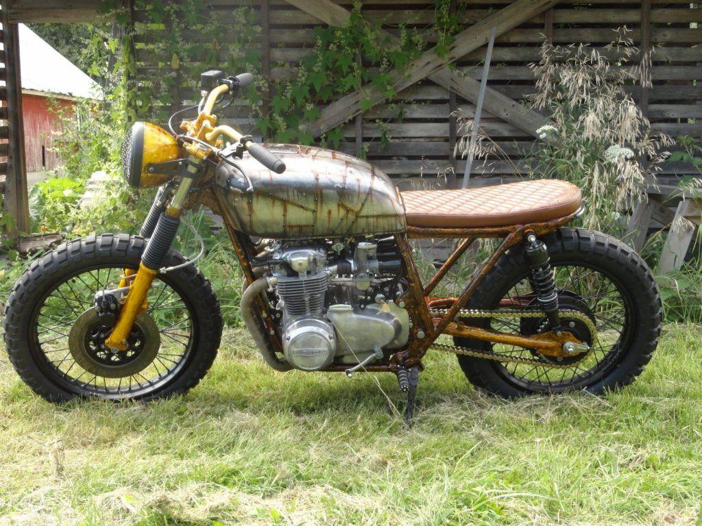 """""""The Walking Dead"""" 1975 Honda CB550 Cafe Racer"""