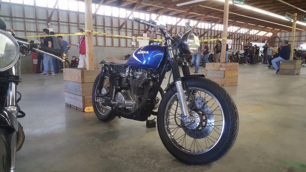 1970 Honda C450 Brat style Cafe racer Cafe Racer Brat