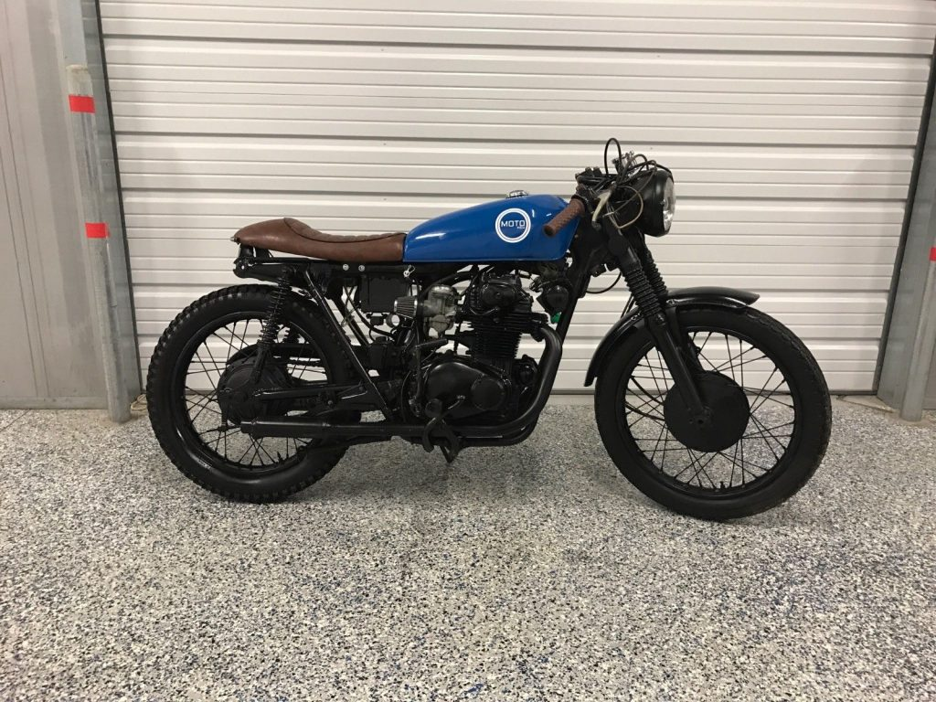 1973 Honda CL350 Cafe Racer