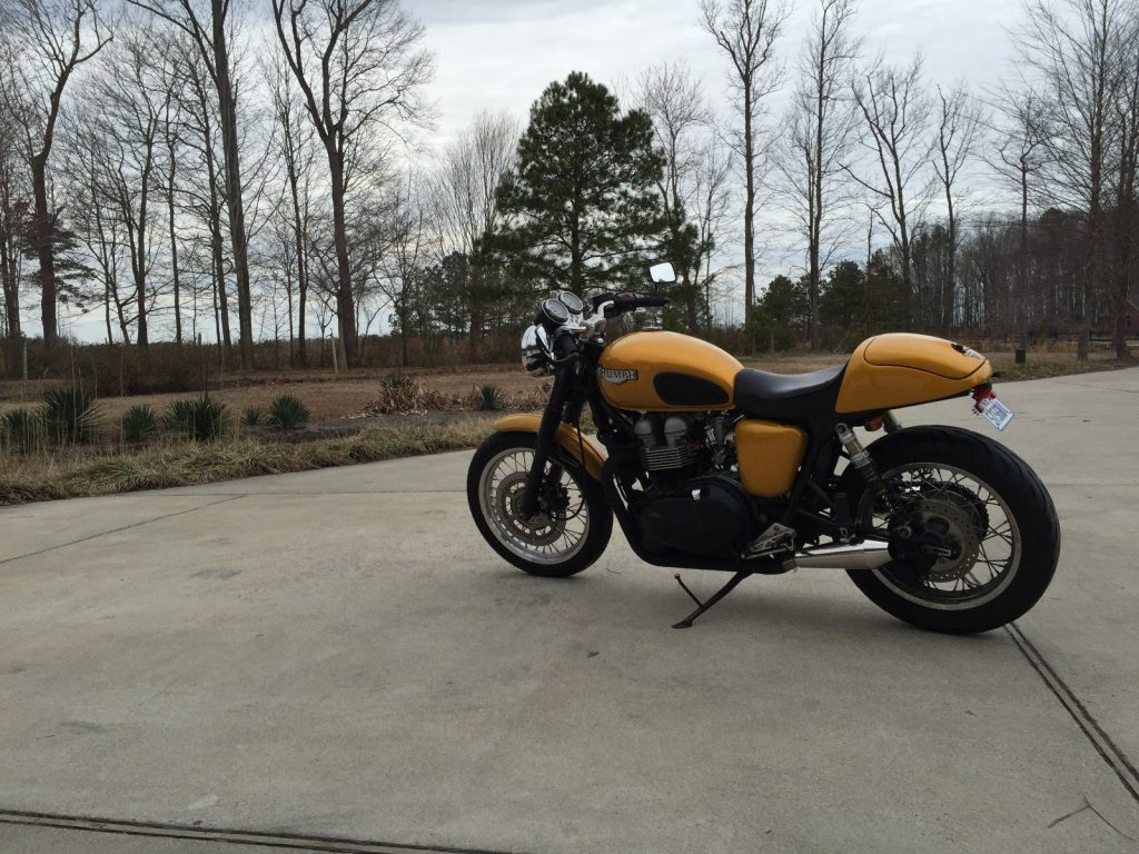 2002 Triumph Bonneville 904cc Big Bore Customized Cafe Racer