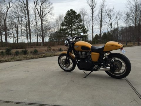 2002 Triumph Bonneville 904cc Big Bore Customized Cafe Racer for sale