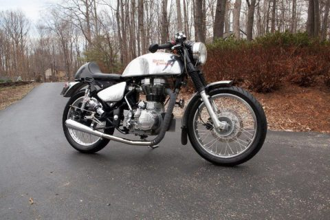 2009 Royal Enfield 500 Bullet Cafe Racer for sale