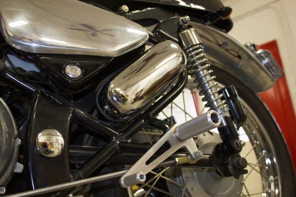 2009 Royal Enfield 500 Bullet Cafe Racer