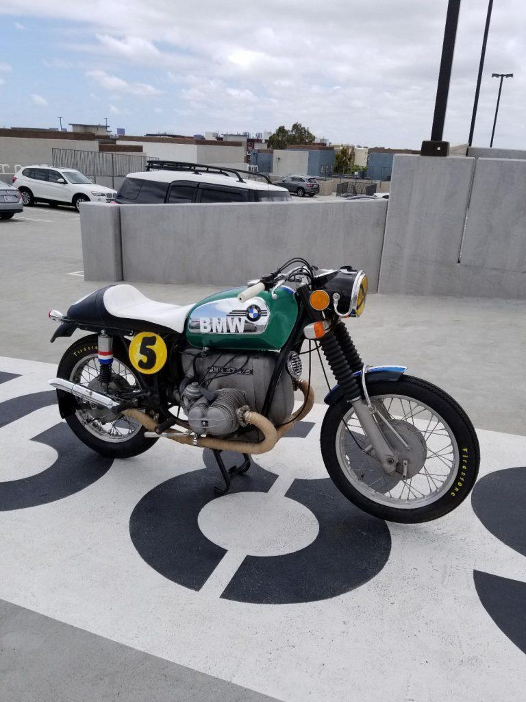 Vintage 1972 BMW R75/5 Cafe Racer