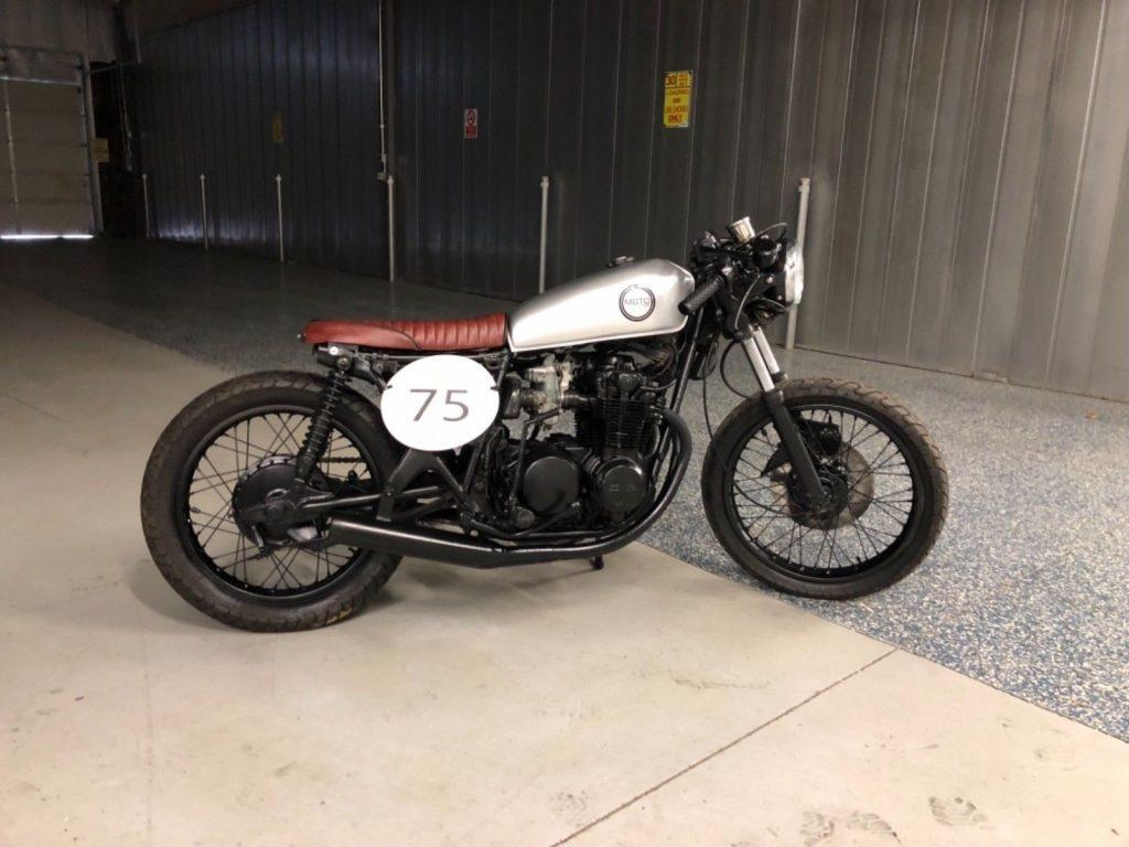 1975 Honda CB500 Brat Style Cafe Racer