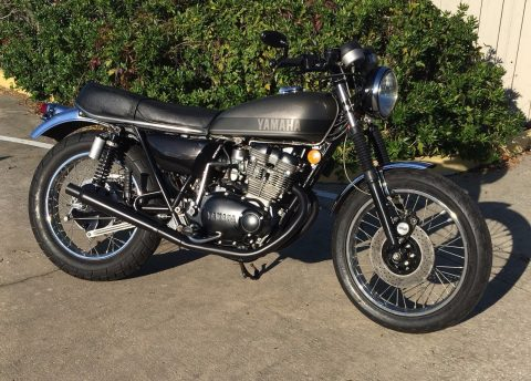 1975 Yamaha TX500 DOHC Cafe Racer for sale