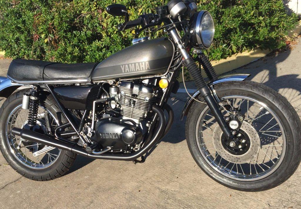 1975 Yamaha TX500 DOHC Cafe Racer