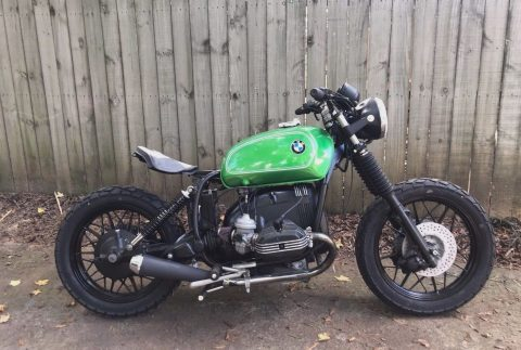 1980 BMW R100 bobber airhead motorcycle for sale