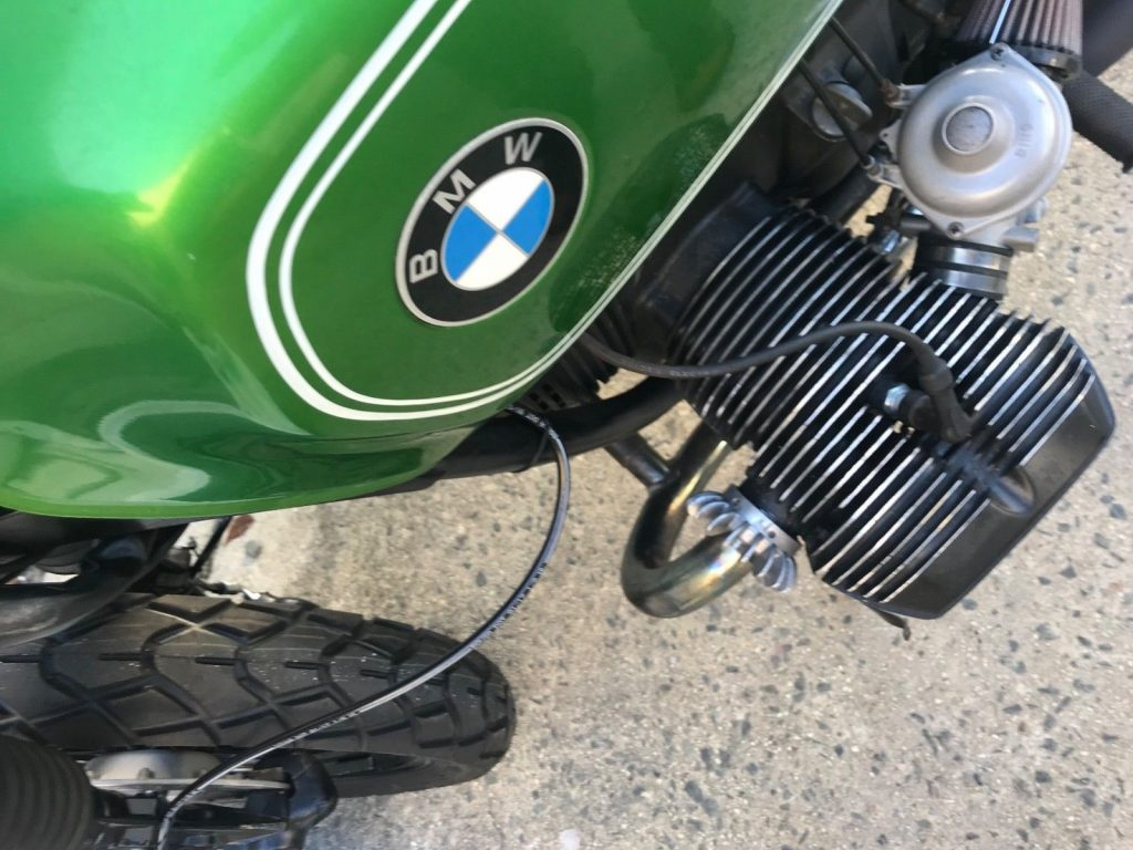 1980 BMW R100 bobber airhead motorcycle