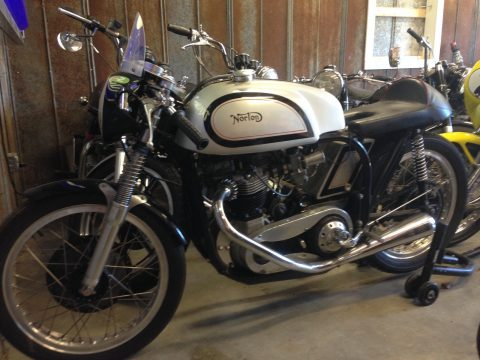 1958 Norton Triton for sale