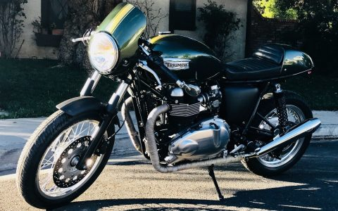 2014 Triumph Thruxton in very good condition for sale