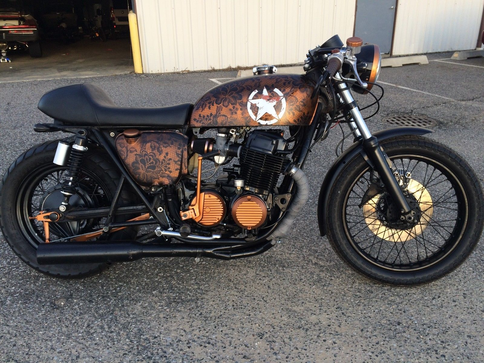 Nicely built 1975 Honda CB for sale
