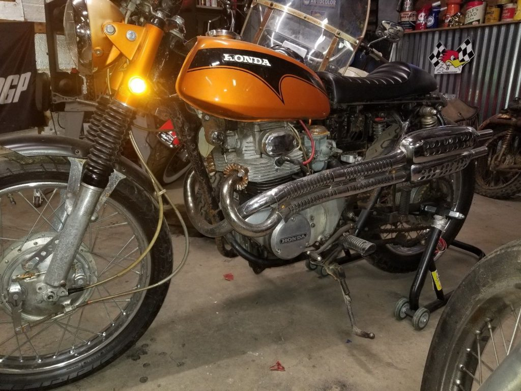 GREAT 1971 Honda CL