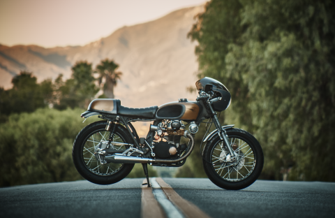 1973 Honda CB 350 Super Sport Custom Cafe Racer for sale