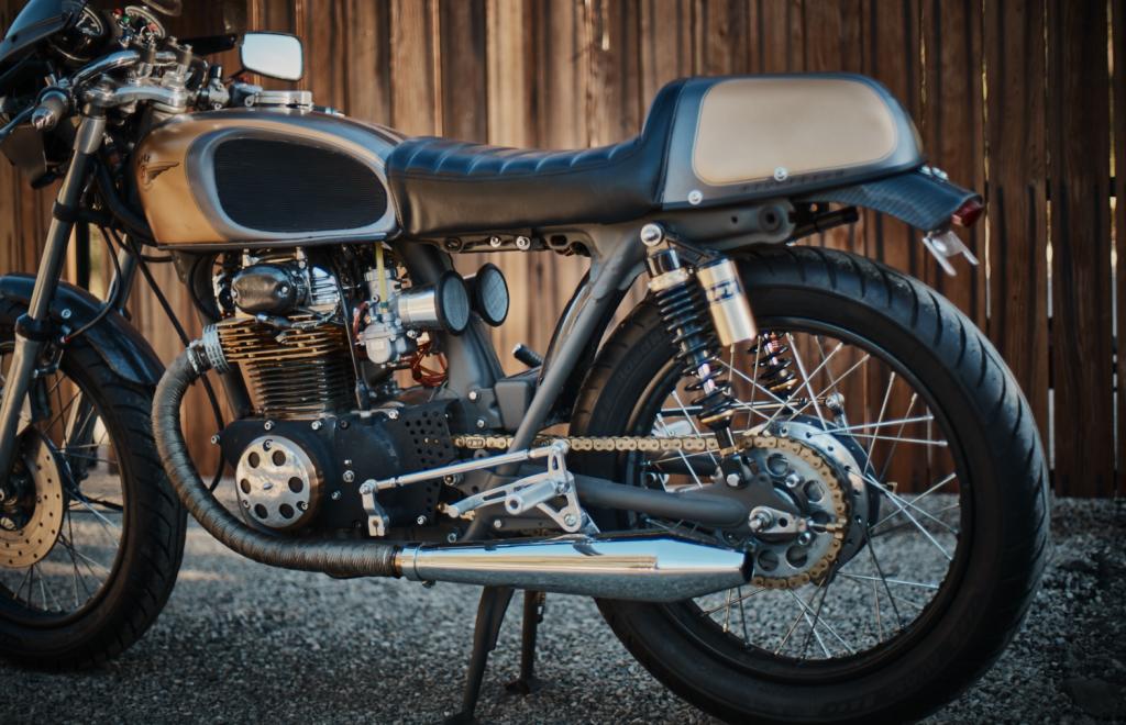 1973 Honda CB 350 Super Sport Custom Cafe Racer