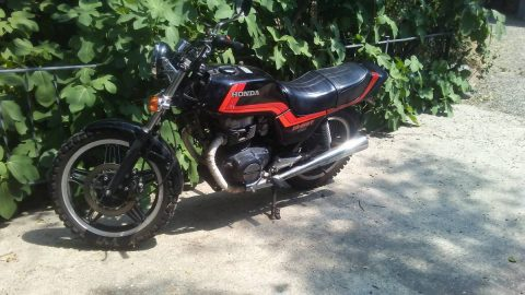 GREAT 1982 CB450T Night Hawk for sale