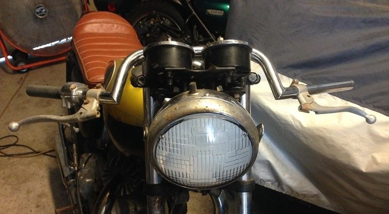 "1962 ""Triless"" Triumph/Matchless Cafe Racer Project Vintage Classic"