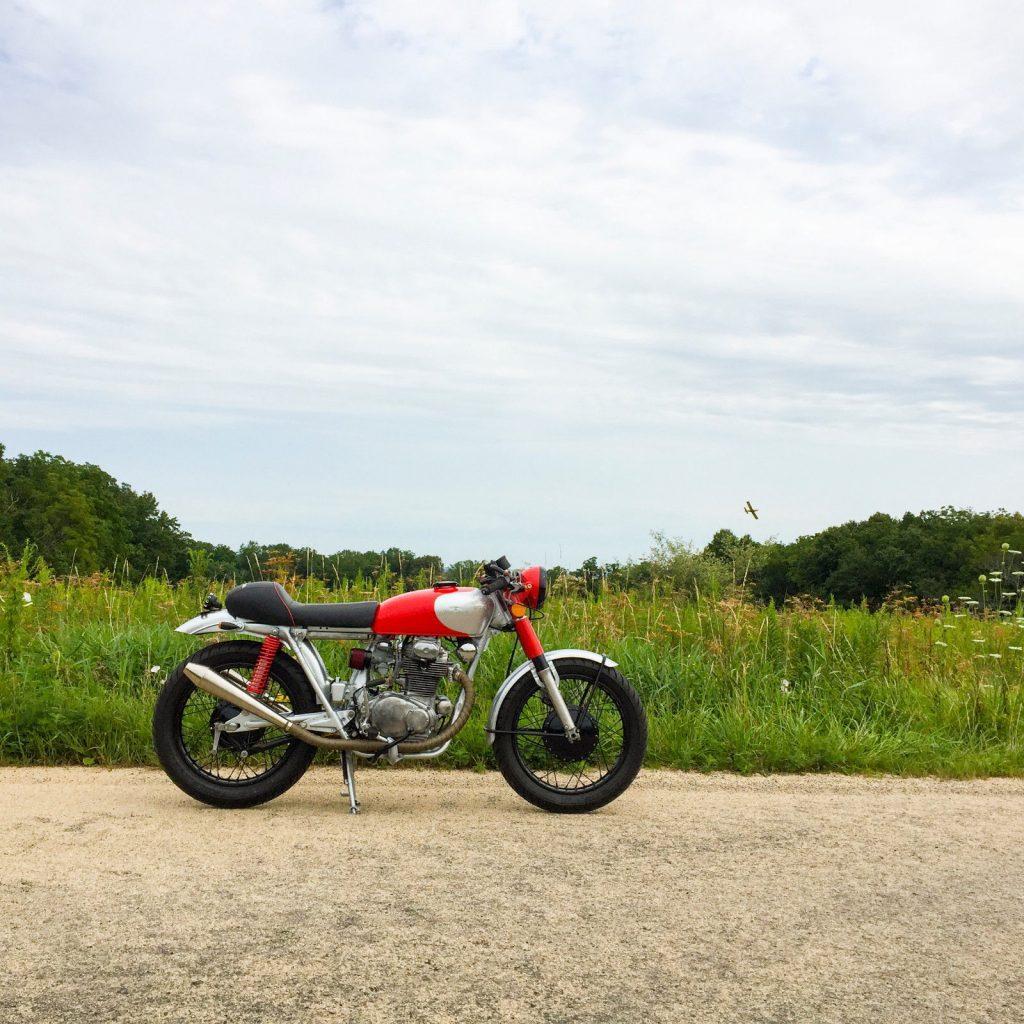 1972 Honda CB350 Cafe Racer